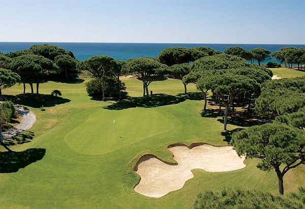 Golfschule Algarve Pine Cliffs Golf & Country Club Spielbahn