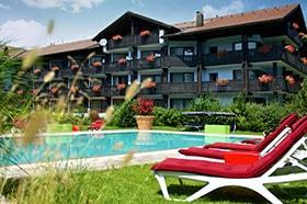 Übersicht Golf & Alpin Wellness Resort Hotel Ludwig Royal